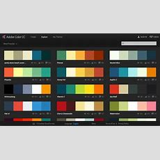 Adobe Color Cc Your Color Scheme Assistant  Colors