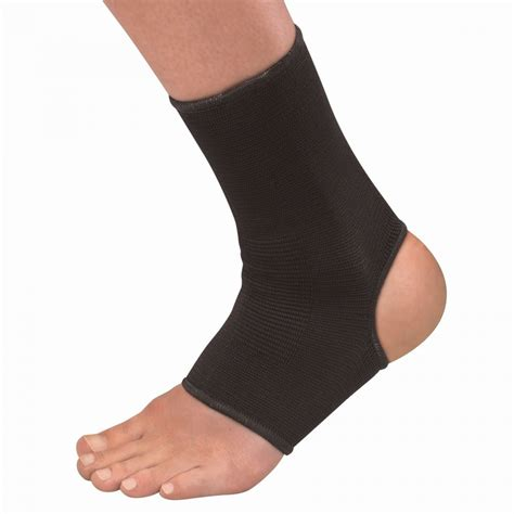 elastic ankle support black moderate at northernrunner