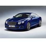 Bentley Cars  News 2012 Continental GT Speed