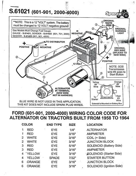 Ford Tractor Wiring by New Ford Tractor Alternator Wiring Diagram