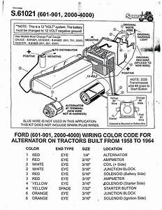 Ford 600 Spark Plug Wiring Diagram