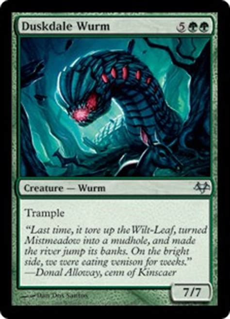 Mtg Wurm Deck Modern by Wurm Magic The Gathering Wiki Fandom Powered By Wikia