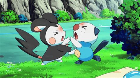 84 images about 💗emolga pachirisu💗 on we heart it see more about pokemon pachirisu and emolga