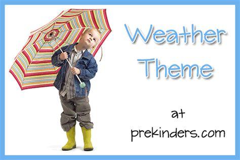 weather theme prekinders 230 | weather