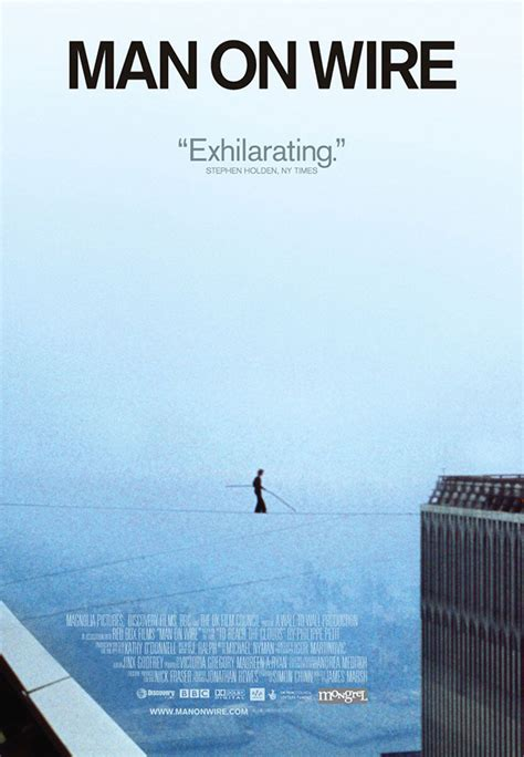 wire poster movie 2008 film movies netflix posters films al petit philippe 2009 tightrope xlg awards documentary most 1974 december