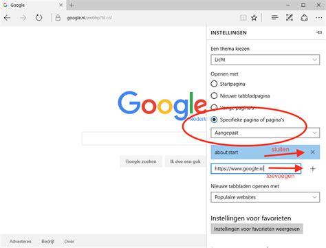 Google Instellen Als Standaard Zoekmachine Of Startpagina