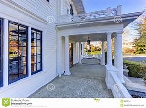 Porche Entrée Maison : porche am ricain de luxe d 39 entr e de maison photo stock ~ Premium-room.com Idées de Décoration