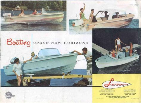 Larson Runabout Boats by 1960 Larson Boat All American Runabout Classic Boats