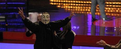 Anonymous ataca la web de los Goya y publica información