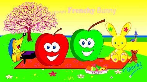 pomme de reinette et pomme d api tapis tapis pomme de reinette et pomme d api karaoke frenchy bunny