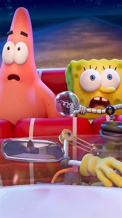 Spongebob Sponge Run 4k Patrick Phone Wallpapers