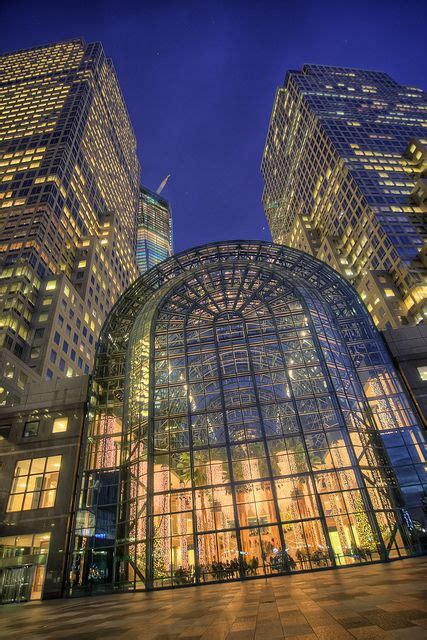 Winter Garden City by Winter Garden Atrium New York City City Nyc Empire State