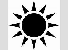 Black Sun Free Images at Clkercom vector clip art