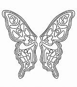 Coloring Wings Pages Butterfly Angel Pattern Fairy Printable Template Colouring Patterns Sheets Sheet Cool Cut Templates Momjunction Wing Children Drawing sketch template
