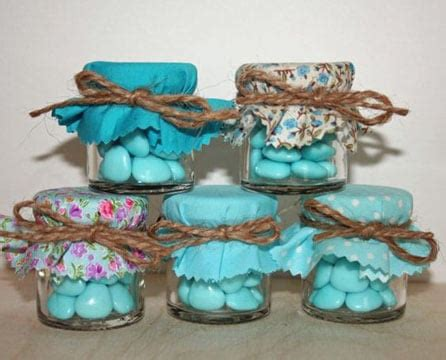 ideas para decorar frascos de vidrio para souvenirs