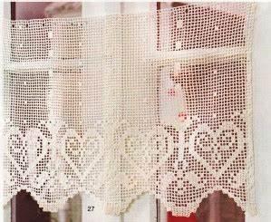 Rideau Brise Vue : rideau au crochet filet brise vue coeurs savoyards tutoriel gratuit le blog de crochet et ~ Teatrodelosmanantiales.com Idées de Décoration