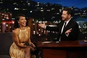 Jada Pinkett Smith at Jimmy Kimmel Live 05/25/2017