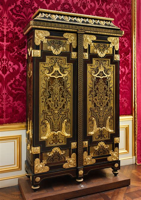 attributed  andre charles boulle cabinet french
