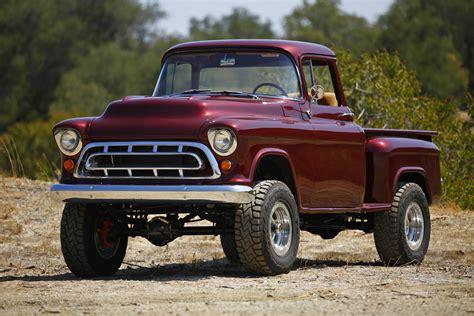 First Drive Legacy Classic Trucks 1957 Chevy Napco 4x4