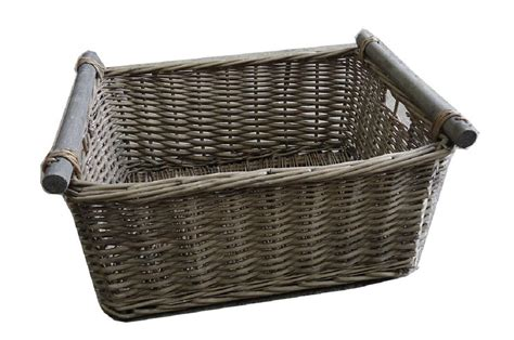 kitchen wicker baskets storage kitchen log decorative wicker storage basket 6477