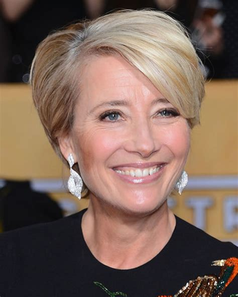 2018 Short Haircuts for Older Women Over 50 to 60 Years