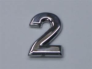 chrome letters and numbers rounded no minimum order With custom chrome letters