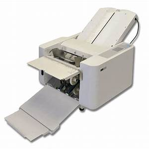 Ideal  Mbm 208j Automatic Table Top Paper Folder