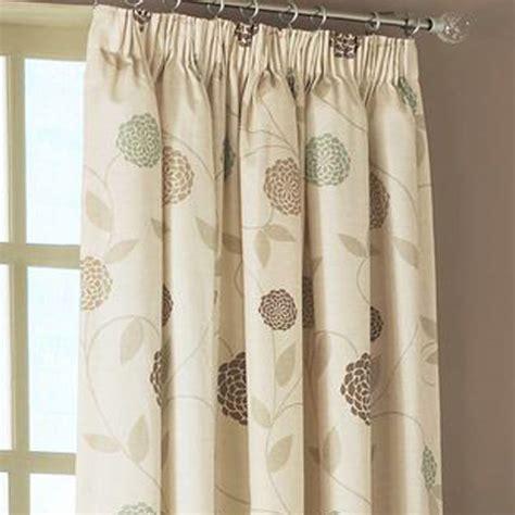 dreams n drapes rosemont floral print pencil pleat lined