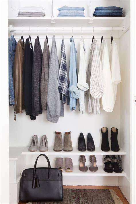 Closet Minimalist by Best 25 Simple Wardrobe Ideas On Basic