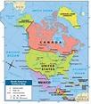 Printable Map Of North America For Kids   Printable Maps