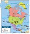 Printable Map Of North America For Kids | Printable Maps