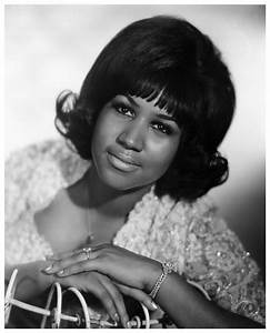 Aretha Franklin Portait 1960 Jazzinphoto
