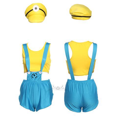 minion damen kostüm minions minion damen m 228 dchen kost 252 m karneval fasching despicable me ebay