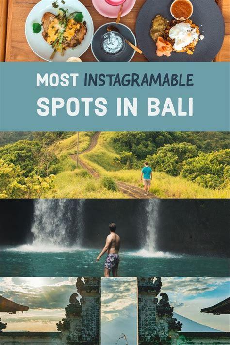 instagramable locations  bali bali