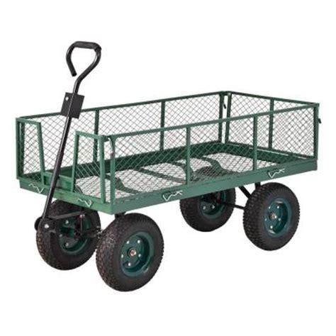 depot wagon sandusky 5 cu ft 24 in w utility cart Home
