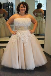 plus size bridesmaid dresses cheap plus size wedding dresses 2015 tea length ivory garden tulle applique sleeveless
