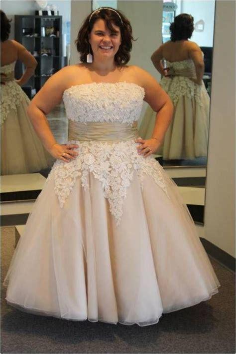 2 wedding dresses plus size images