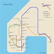 Subway Maps for Cities without Subways | Urban Omnibus
