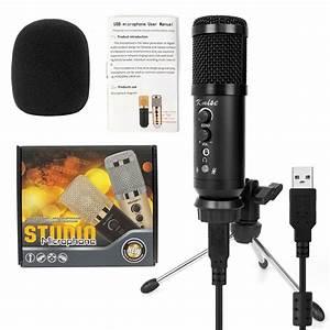 Kmise Usb Condenser Microphone 16mm Large Diaphragm For