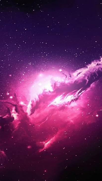 Galaxy Pink Nebula Stars Mobile 4k Wallpapers