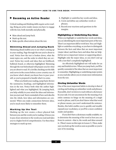 Work Sample Ysis High School Reading Comprehension Worksheets Work Best Free Printable Worksheets