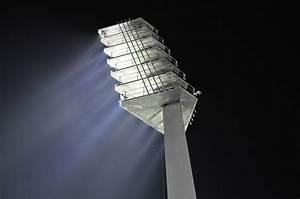 Free photo flood light night football image on
