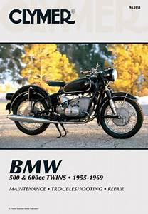 Clymer Manuals Bmw 500  U0026 600cc Twins 1955-1969