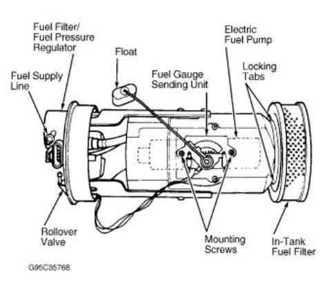 Dodge Neon Fuel Filter Engine Mechanical Problem