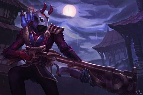 Blood Moon Diana Animated Wallpaper - blood moon jhin lol wallpapers