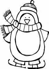 Penguin Coloring Pages Printable Cool Getcolorings sketch template