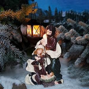 Weihnachtsbeleuchtung Für Draußen : au en krippe heilige nacht online kaufen bei g rtner p tschke ~ Frokenaadalensverden.com Haus und Dekorationen