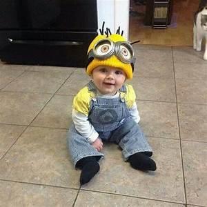 Minion Kostüm Baby : 37 diy minion costume ideas for halloween ~ Frokenaadalensverden.com Haus und Dekorationen