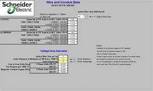 Electrical Calculations Sheet