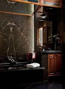 Decorations murales oseriez vous la peinture noire for Salle de bain design avec hottes décoratives murales